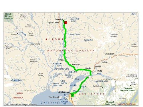 阿拉斯加地图|华译网翻译公司提供专业翻译服务