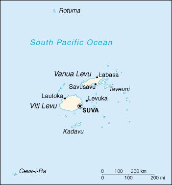 斐济地图|华译网翻译公司提供专业翻译服务